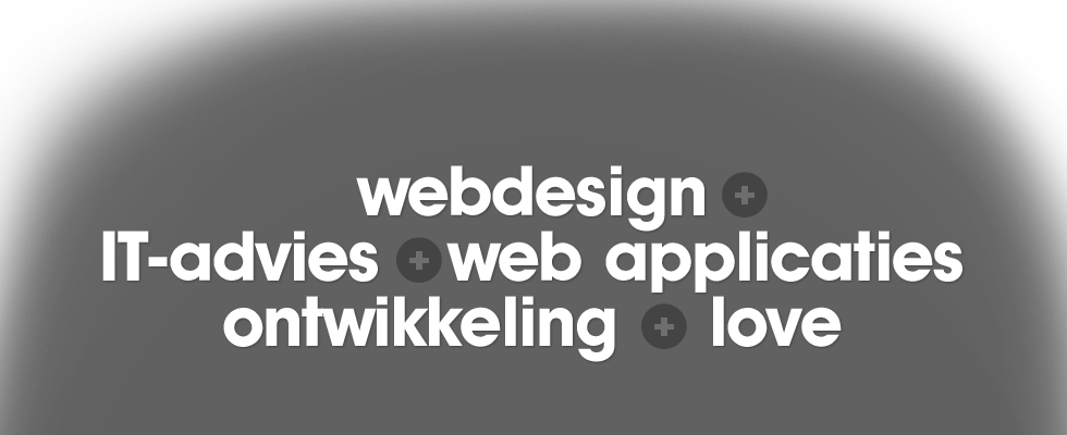webdesign - it advies - webapplicaties - ontwikkeling - love